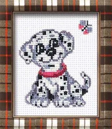 DALMATION Cross Stitch Kit from Riolis.